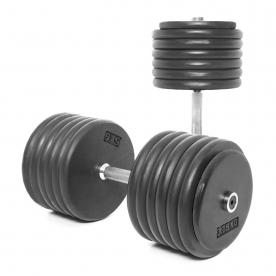 Body Power 67.5Kg Pro-style Dumbbells (x2)