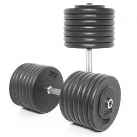 Body Power 72.5Kg Pro-style Dumbbells (x2)