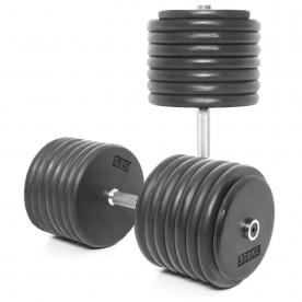 Body Power 77.5Kg Pro-style Dumbbells (x2)