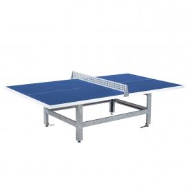 Butterfly S2000 Standard Concrete/Steel Table 30SQ Blue