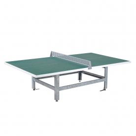 Butterfly S2000 Standard Concrete/Steel Table 30SQ Granite Green