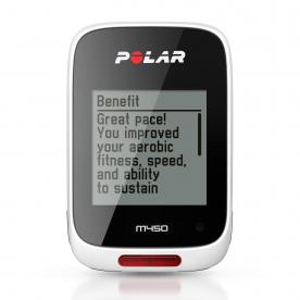 Polar M450 GPS Bike Computer (White)