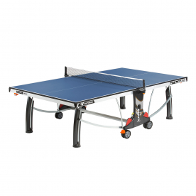 Cornilleau Performance 500 Indoor Rollaway 22mm Table Tennis Table - Blue
