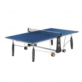 Cornilleau Sport 250 Indoor Rollaway 19mm Table Tennis Table - Blue