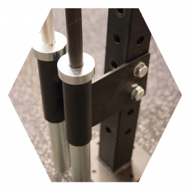 Body-Solid Vertical Bar Holder Attachment - (Fits Body-Solid Hex Rigs, SPR500 & SPR1000)