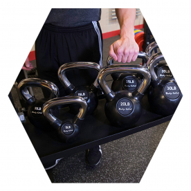 Body-Solid Kettlebell Tray - (Fits Body-Solid Hex Rigs)