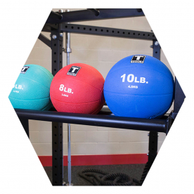 Body-Solid Medicine Ball Tray - (Fits Body-Solid Hex Rigs)