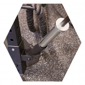 Body-Solid T Bar Row Attachment - (Fits Body-Solid Hex Rigs)