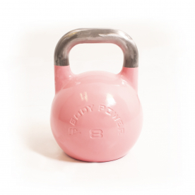 Body Power 8kg Pink Competition Kettlebell