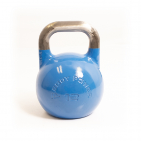 Body Power 12kg Blue Competition Kettlebell
