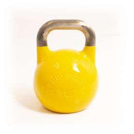Body Power 16kg Yellow Competition Kettlebell