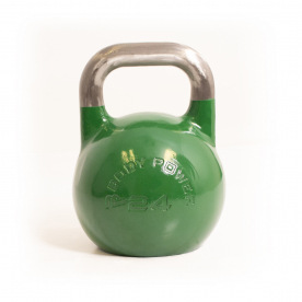 Body Power 24kg Green Competition Kettlebell