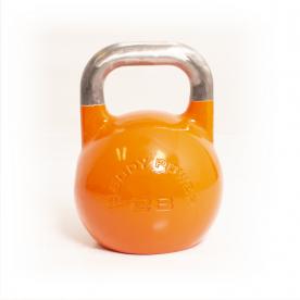 Body Power 28kg Orange Competition Kettlebell