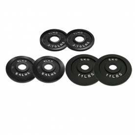 Body Power Olympic (2 Inch) Disc Progression Kit - 17.5kg