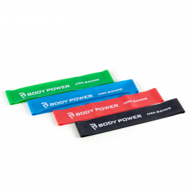 Body Power Mini Bands (Set of 4)