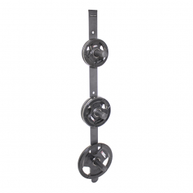 Body Power Wall Mounted Olympic Weight Plate Storage
