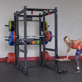Body-Solid Commercial Power Rack Package 2