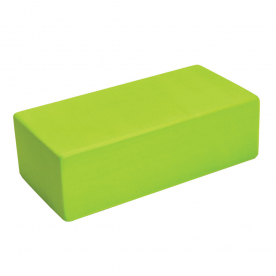 Yoga-Mad Yoga Brick Hi-Density Lime Green