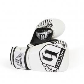 Hatton White 10oz PU CoolFlow Fitness Gloves (Pair)