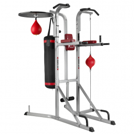 BH Fitness Power Tower and Boxing Station