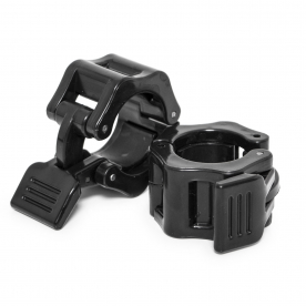 Body Power Studio Bar Quick Lock Clamp Collars - 30mm (Pr)