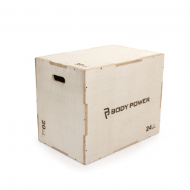 """Body Power Large Wooden 3 in 1 Plyo Box (30""""x24""""x20"""")"""