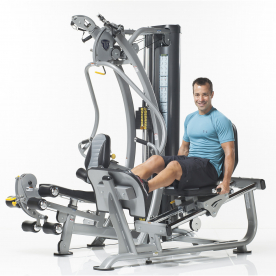 TuffStuff SXT-550 Hybrid Home Gym with Leg Press
