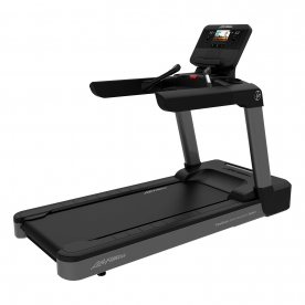 Life Fitness CST Club Series + Light Commercial Treadmill with DX Console (Titanium)