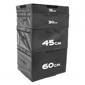 Body Power Soft Plyo Box Complete Set