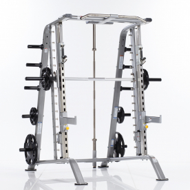 TuffStuff CSM-600 Evolution Series Light Commercial Smith Machine/Half Cage Combo