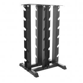 Body Power 4 Tier Vertical Dumbbell Rack