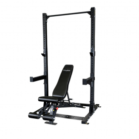 Body-Solid Pro Clubline SPR500 Half Rack with SFID425 Bench
