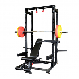Body-Solid Pro Clubline SPR500 Extended Half Rack Package