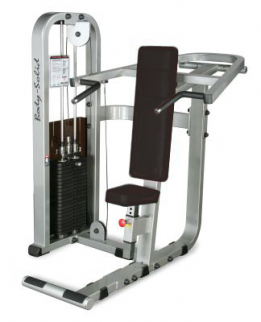 Body-Solid Pro Club Line Shoulder Press Machine (310lb Stack) - Northampton Ex-Display Model (Collection Only)