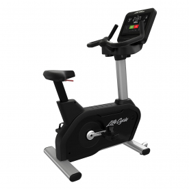 Life Fitness Integrity SC Upright Cycle WIFI - Artic Silver