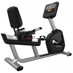 Life Fitness Integrity SC Recumbent Cycle WIFI - Artic Silver