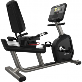 Life Fitness Integrity DX Recumbent Cycle WIFI - Artic Silver
