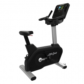Life Fitness Integrity SX Upright Cycle WIFI - Artic Silver