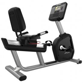 Life Fitness Integrity SX Recumbent Cycle WIFI - Artic Silver