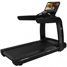 Life Fitness Platinum Club Series Treadmill with Discover SE3 HD console (Black Onyx)