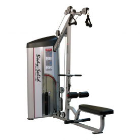 Body-Solid Pro Club Line Series II Lat Pulldown & Seated Row (160lbs)