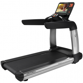 Life Fitness Platinum Club Series Treadmill with Discover SE3 HD console (Arctic Silver)