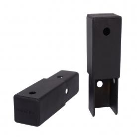 Powertec Power Rack Upright 5 Inch Extension (Black)