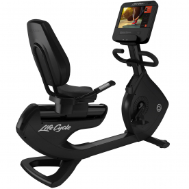 Life Fitness Platinum Club Series Recumbent Bike SE3HD Console (Black Onyx)
