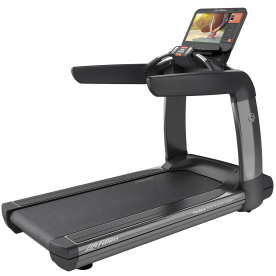 Life Fitness Platinum Club Series Treadmill SE3HD Console (Titanium Storm)