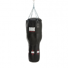 BBE CLUB Leather 110cm Uppercut Punching Bag with Chain & Swivel