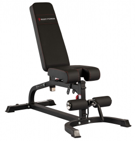 Body Power Multi-Function Utility Bench (Includes Preacher Curl & Leg Developer)