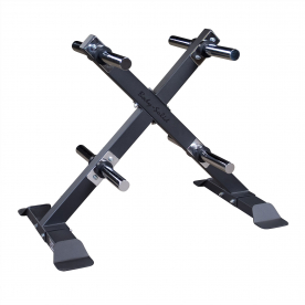 Body-Solid Full Commercial Bumper/Olympic Weight Tree - X Version