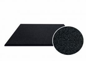 Jordan Fitness Activ Flooring 15mm Black Ramp Edge (50cm x 50cm)