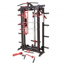 Body Power Deluxe Folding Power Rack